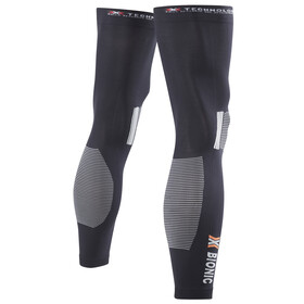 X-Bionic PK-2 Energy Accumulator Summer Light Leg Warmers Black/Pearl Grey